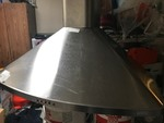 Nice stainless steel range hood retails for $1150.00 don't miss this one