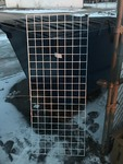 (1)  New 2' x 5' metal grid great for display mounts make creative fencing use your imagination heavy duty steel very nice