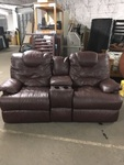 Leather Dual Recline Theater Seating