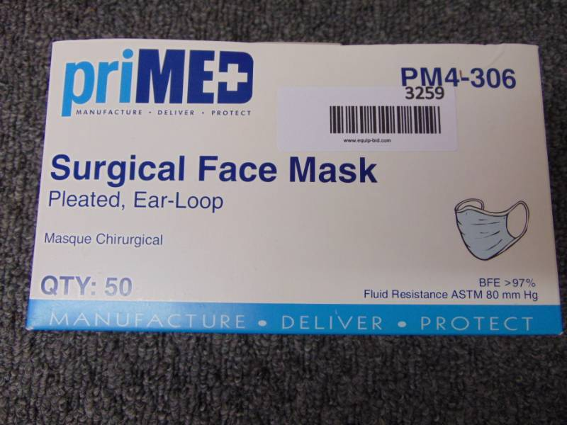 primed mask surgical