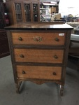 Vintage 3 Drawer Chest of Drawers