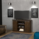 "Bell'o - Omni Tv Cabinet For Most Flat-panel Tvs Up To 60"" - Sawcut Espresso"