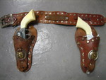 Roy Rogers Cap Gun and Holster Set