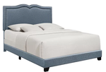 Keenum Upholstered Panel Bed - King