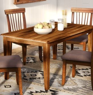 Loon Peak Kaiser Point Dining Table With 2 Chairs Msrp 499 99