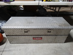 DeeZee truck bed toolbox w/contents.