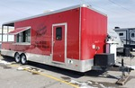 2012 - 28' Custom Catering BBQ Trailer by Southwest Trailer
