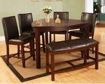 Victory Counter Height Dining Table by Red Barrel Studio MSRP $1166.99 3 Benches Chairs Not Included