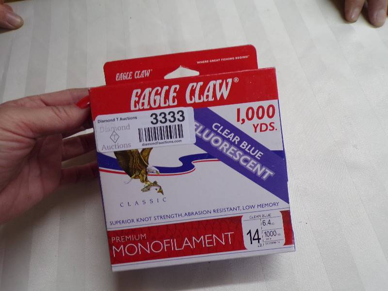 Eagle Claw 14# Premium Monofilament Line 1000 yards