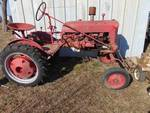 Farmall Cub Tractor and Implements - Runs Good - New Battery - Come to Preview to see/hear run
