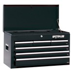 Waterloo 26 in. Black 6 Drawer Chest