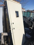 36 x 81 steel door with frame has some shipping scuffs come preview as pictures