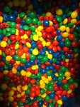 Bulk box of candy covered chocolate same style as M&M's  25 pound box