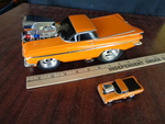 Muscle Machines 1959 El Camino Metal Model Car