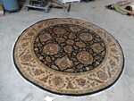 "large round area rug 8'1"" in diameter Retail $4,500"