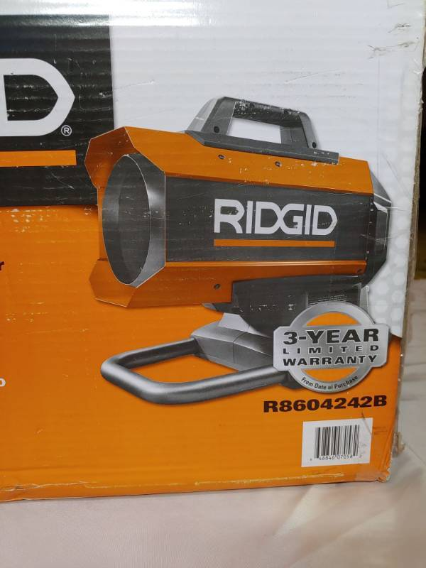 Forced Air Propane Heater >> Ridgid R8604242b 18-volt 60k Btu Hybrid Forced Air Propane Portable Heater | Butler MO Tons of ...