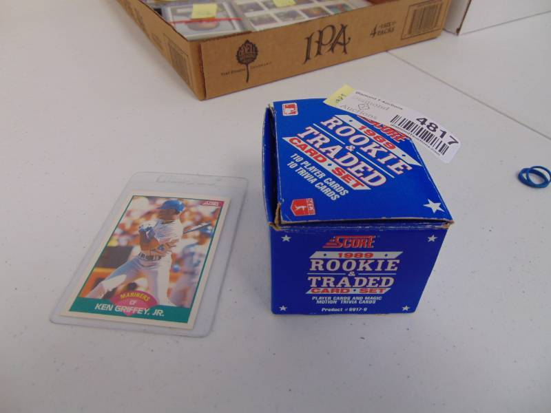 1989 Score Rookie And Traded Baseball Card Set With Ken Griffey Jr