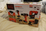 Black & Decker 4 Tool Set - New - Includes Drill, Flashlight, Jig Saw and Detail Sander