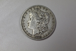 1883 P Morgan Silver Dollar