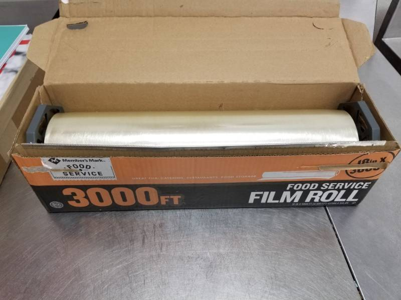 Members Mark Film Roll | Norlake Walk In Cooler, Stainless Steel 3