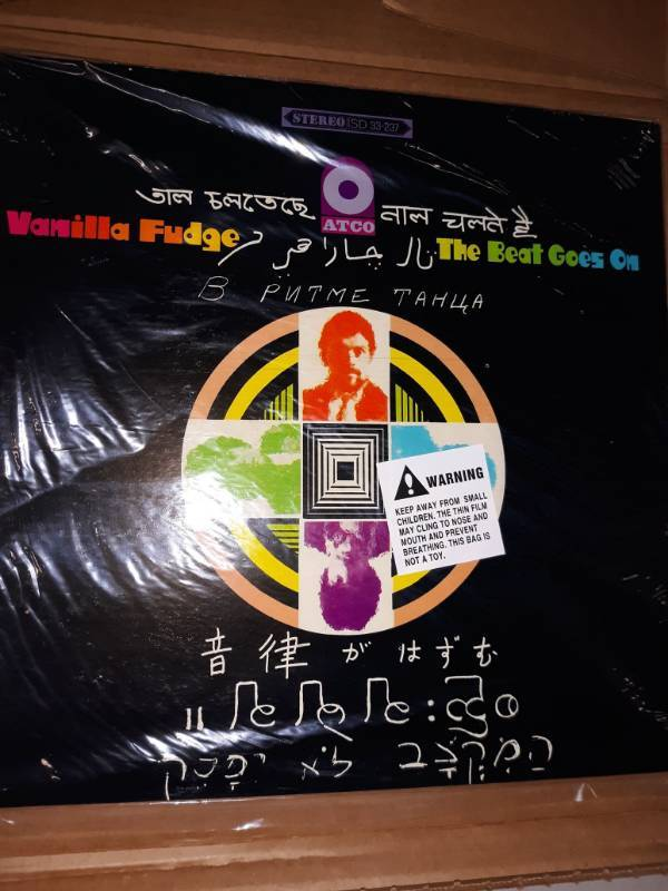 Vanilla Fudge The Beat Goes On - Vinyl Album | Tool Chests