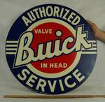 BUICK Authorized Service Sign - VERY BIG!!! - Super Nice!