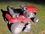 "Riding Mower Yard Machines - 6 Speed - 38"" Twin Blade Cutting Deck - 13.5 HP Runs! Mows! SEE VIDEO!"