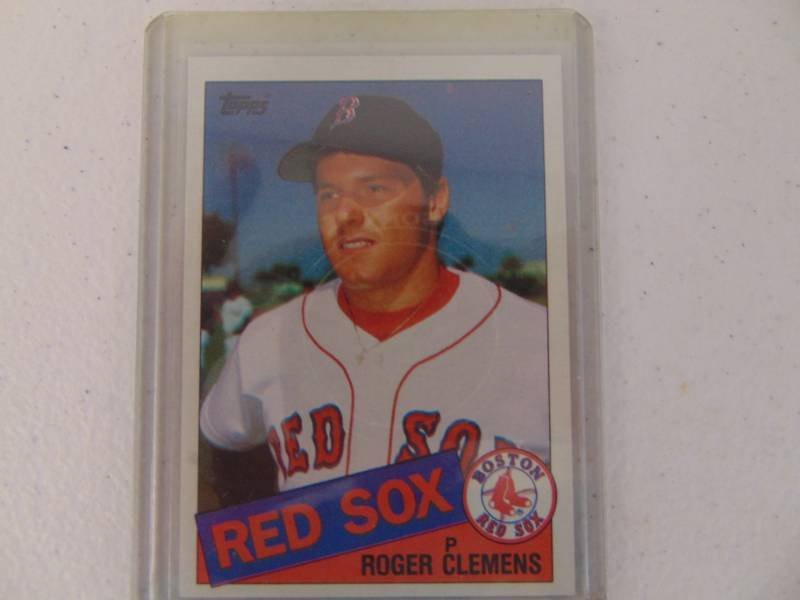 1985 Topps Roger Clemens Rookie Card Newton Collectibles