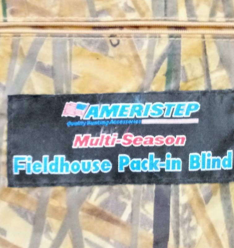 Portable Hunting Blind- Ameristep Fieldhouse Pack-In Blind Expensive