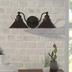 Schaff 2-Light Wall Sconce
