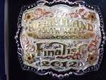 Heartland Youth Rodeo Finalist Belt Buckle
