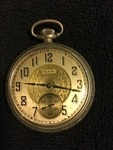 Elgin Pocket Watch with Second Hand Face