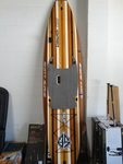 "Scott Burke 10'6"" voyager stand up paddle board."