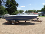 "1984 Sea Arrow  18' boat with 5.0L Chevy engine mercruiser outdrive. Trailer included and has 2"" ball. Runs great."