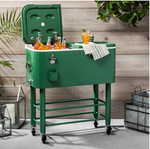 77qt Centennial Rolling Cooler : Green  - Hearth & Hand with Magnolia