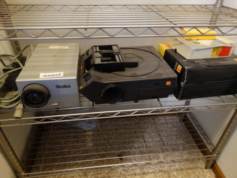 Rollei and kodak projectors and kodak accessories  | Auction