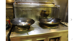 Commercial Double Wok Gas Stove