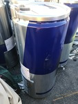 New refrigerated beverage cooler with casters read description