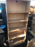 New 76 inch tall bookcase with adjustable shelves as pictured