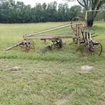 Adams leaning wheel grader no. 2C