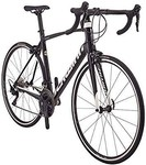 Schwinn Fastback Carbon 105 Performance Road Bike for Advanced to Expert Riders, Featuring 57cm/Extra Large Lightweight Carbon Fiber Frame and Shimano 105 22-Speed Drivetrain with 700c Wheels, Black