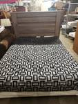 Nice Modern Ashley Queen Size Bed