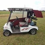 Club Car Golf Cart with Charger - Purchased New in 2004 - Has new bushings on front wheels - Smooth and quiet ride!