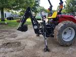 Bush Hog 762H 3PT Backhoe Attachment