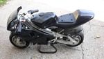 Banshee GP 50cc Liquid-Cooled Pocketbike MSRP $1,100