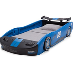DELTA Children's Turbo Race Car Bed TWIN SIZE