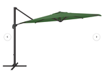 Gribble 11.5ft Cantilever Umbrella : Forest Green