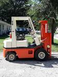Nissan Gas Powered Forklift 33,633 Work Hours