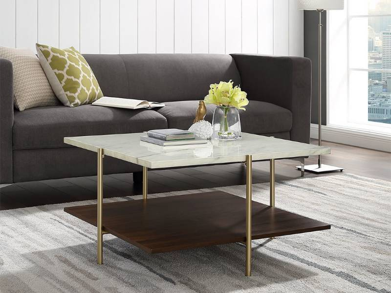 Awesome Simone Square Coffee Table Huge Retail Furniture Auction Creativecarmelina Interior Chair Design Creativecarmelinacom