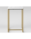 Mogenson Square Marble Accent Table White - Project 62™
